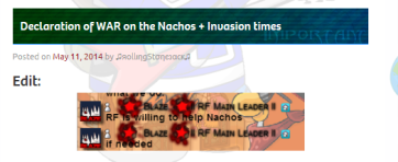 declaration of war on nachos gd