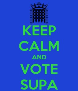 keep calm vote supa